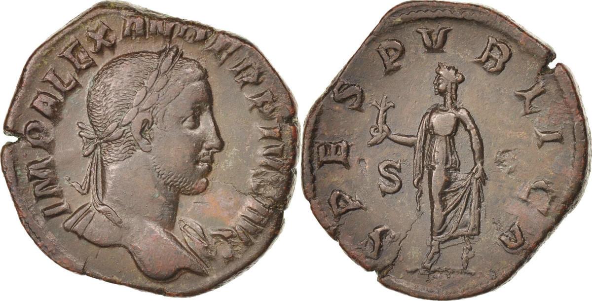 Sestertius Rome Severus Alexander AU(50-53)