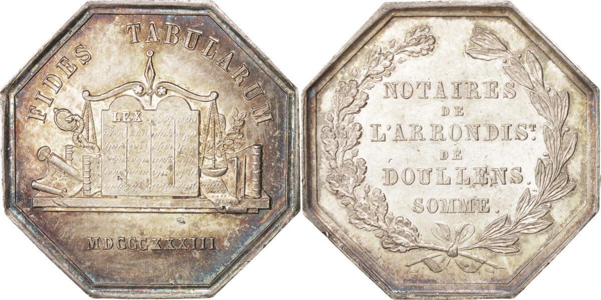 Token 1833 Frankreich AU(50-53)