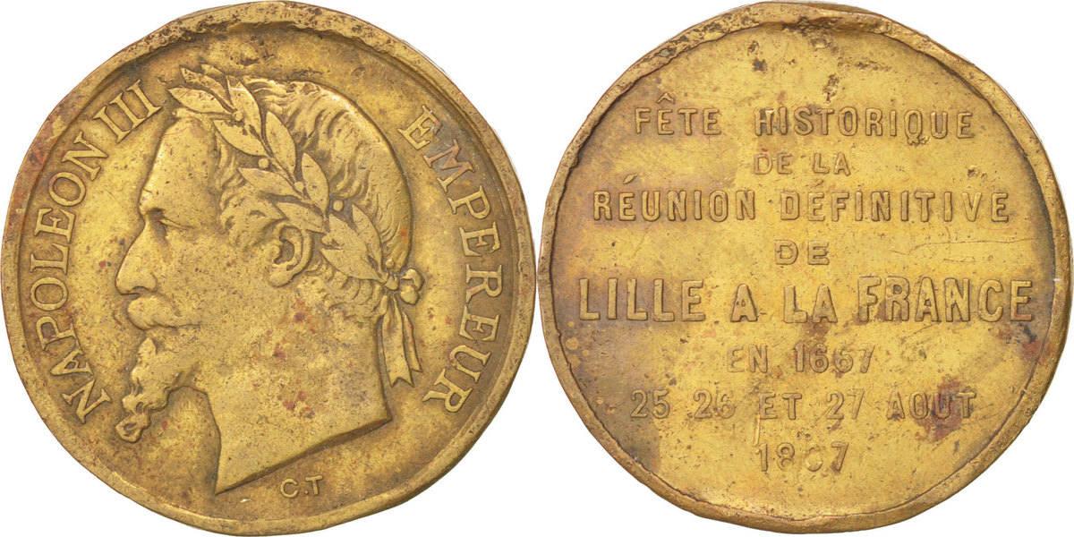Medal 1867 Frankreich EF(40-45)