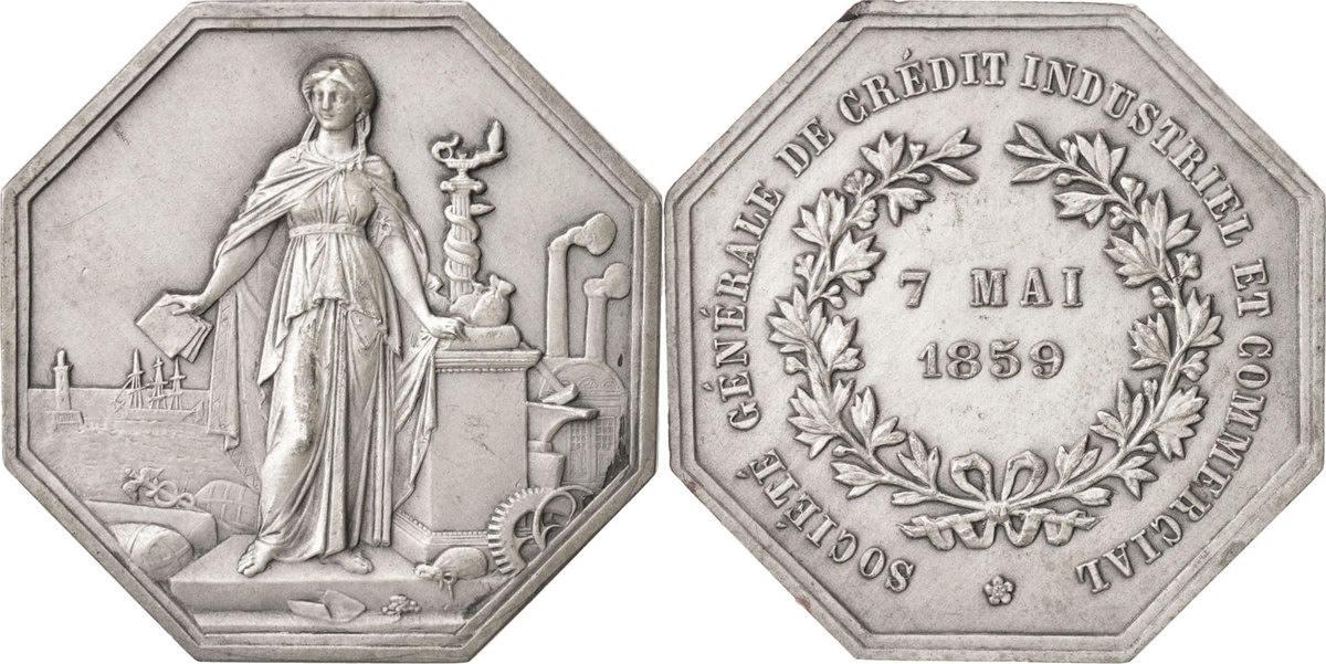 Token 1859 Frankreich AU(50-53)