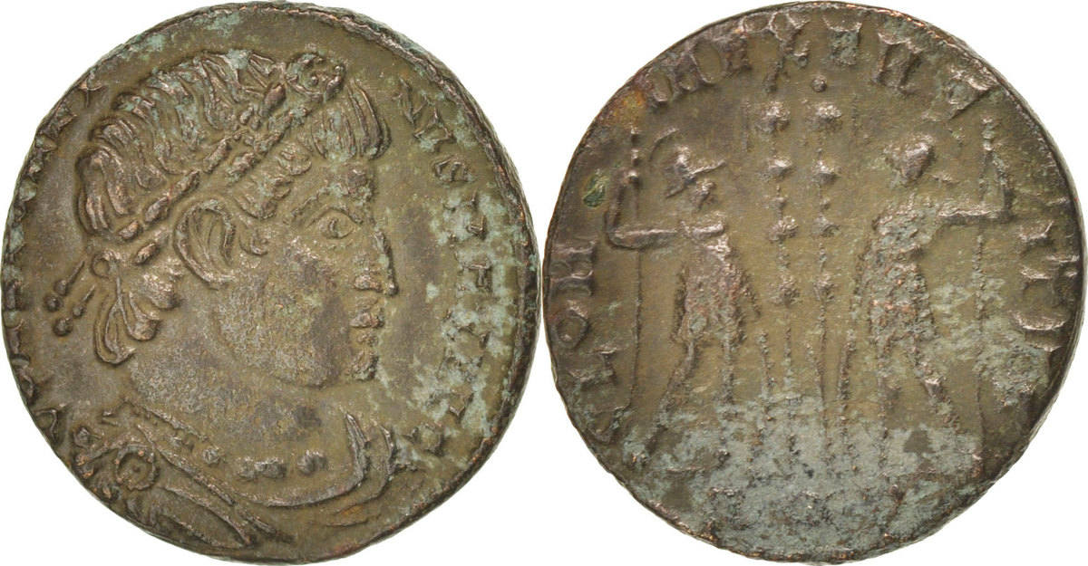 Nummus Roma  EF(40-45)