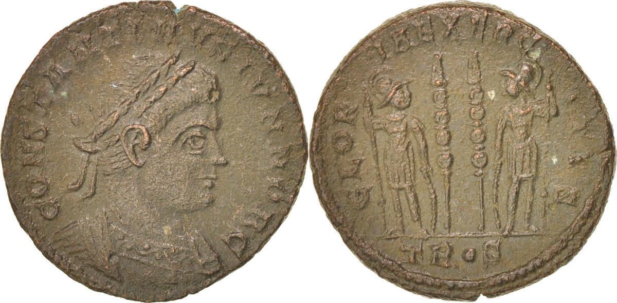 Nummus Trier Constantine II VF(30-35)