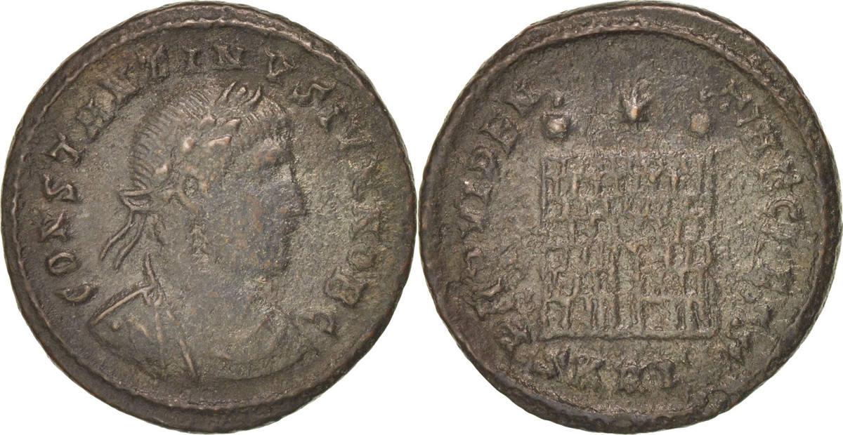 Follis Nicomedia Constantine II EF(40-45)