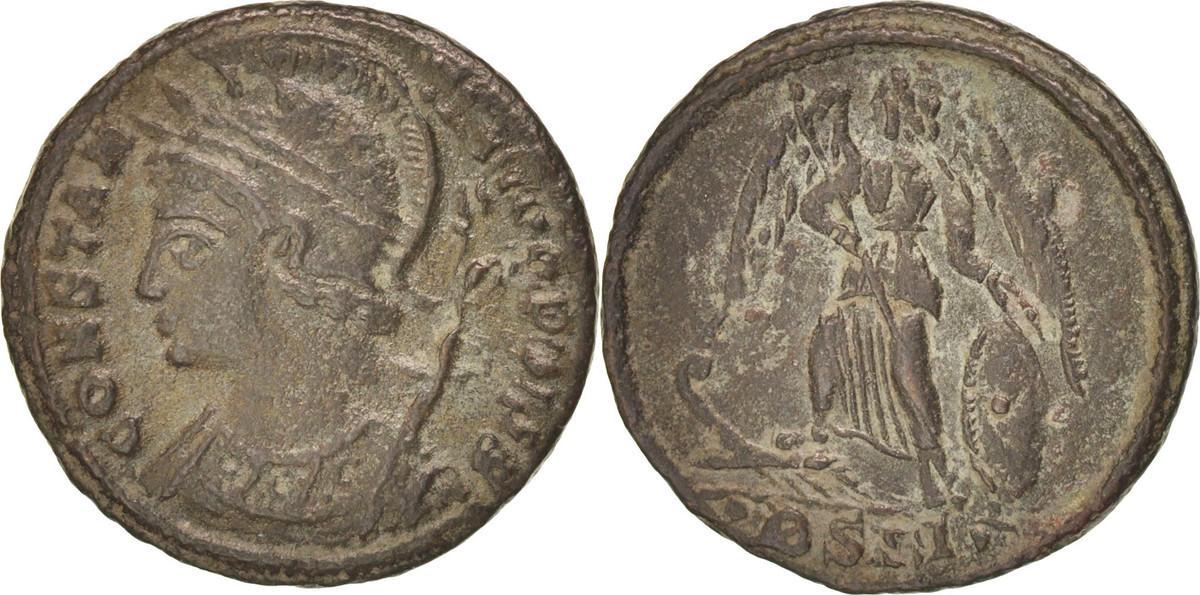 Nummus Ostia  AU(50-53)