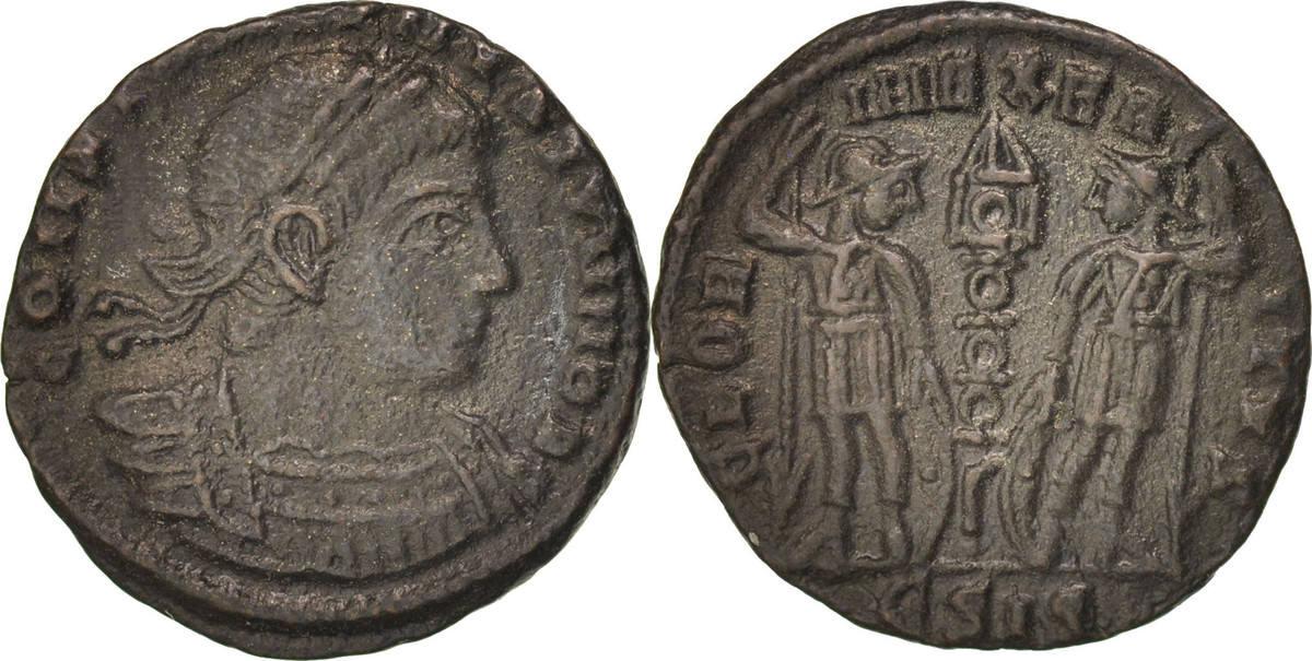 Nummus Siscia Constantine II AU(50-53)