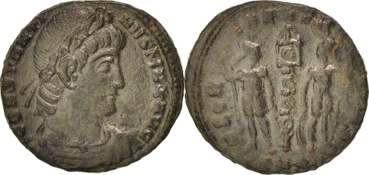 Nummus Nicomedia Constantine I EF(40-45)