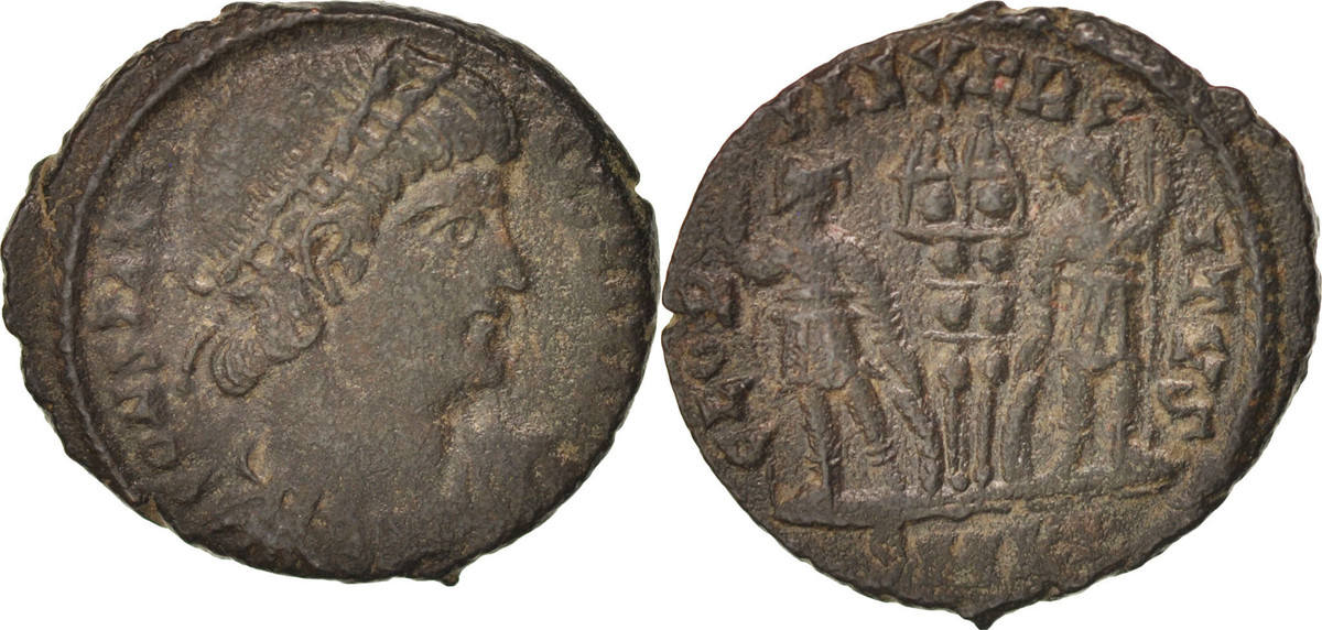Follis Kyzikos Constantine I EF(40-45)