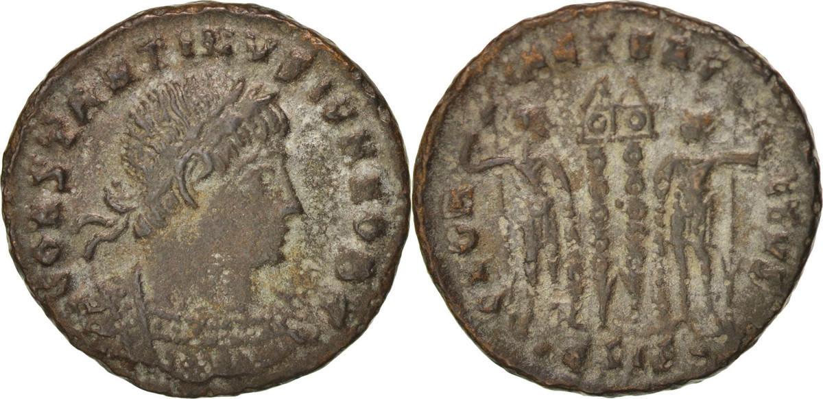 Follis Siscia Constantine II AU(55-58)