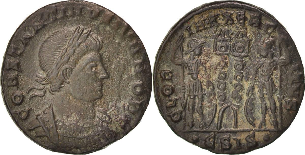 Follis Siscia Constantine II AU(50-53)