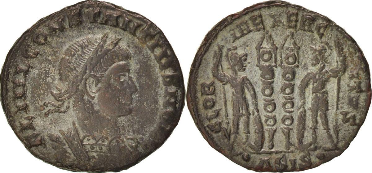 Follis Siscia Constantius II AU(50-53)