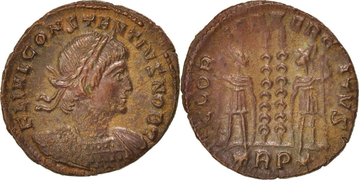 Follis Trier Constantius II AU(50-53)