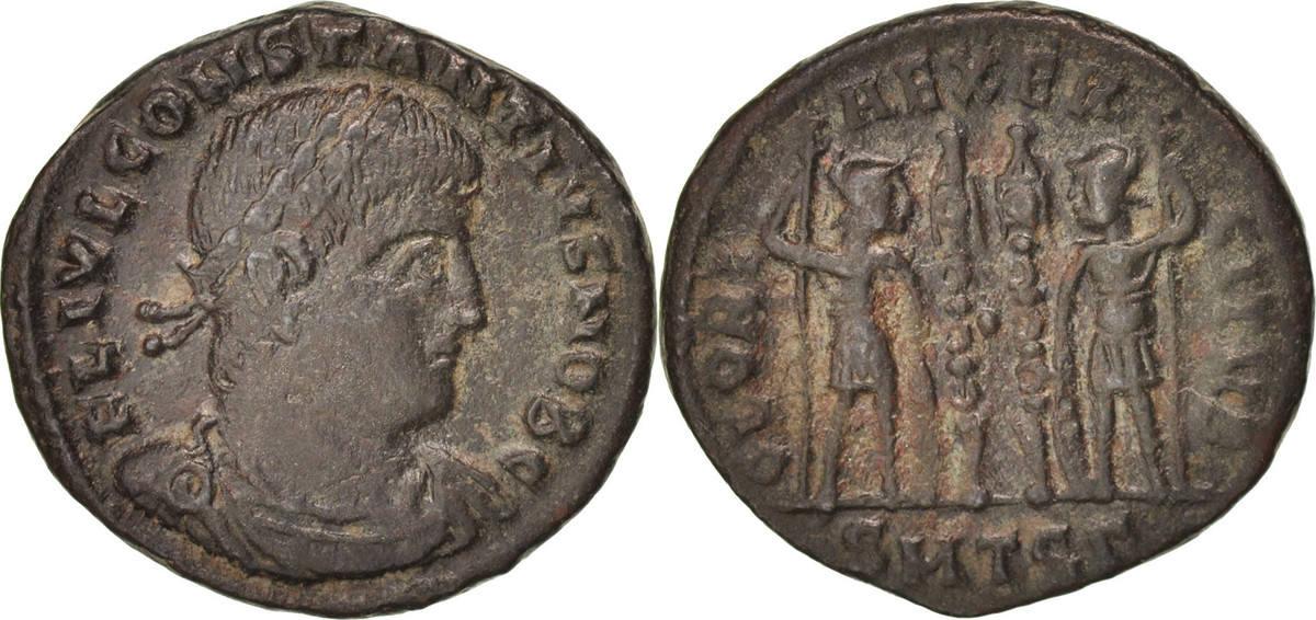 Follis Thessaloni Constantius II AU(50-53)