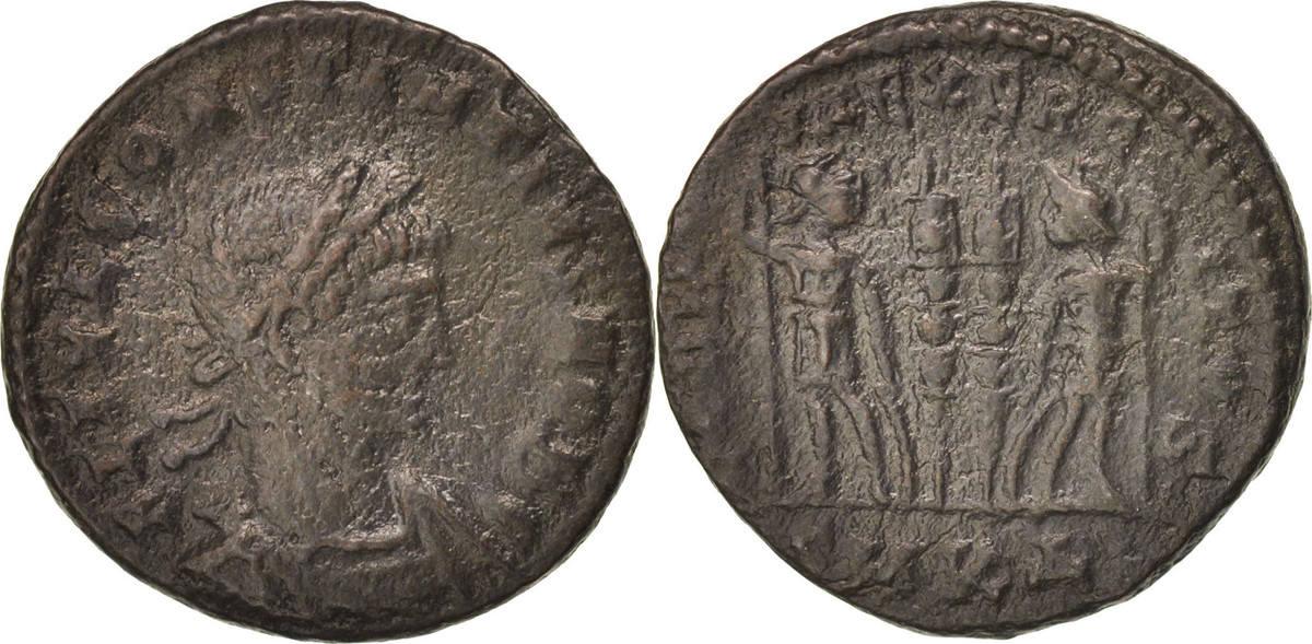 Follis Kyzikos Constantius II VF(30-35)