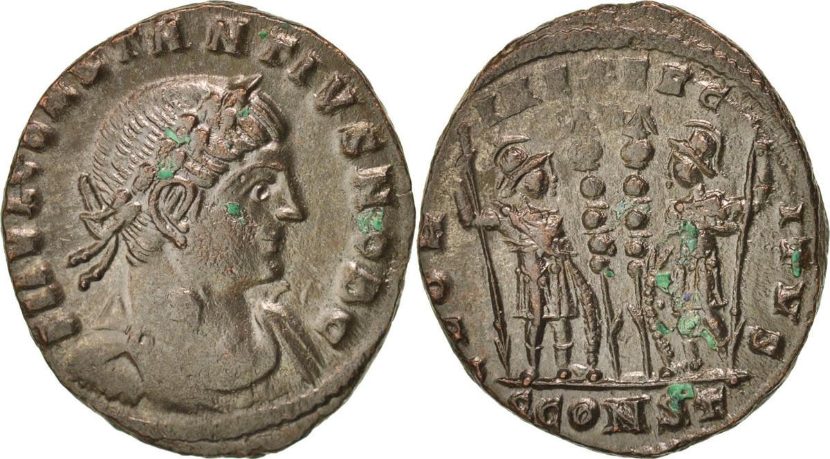 Follis Arles Constantius II AU(50-53)