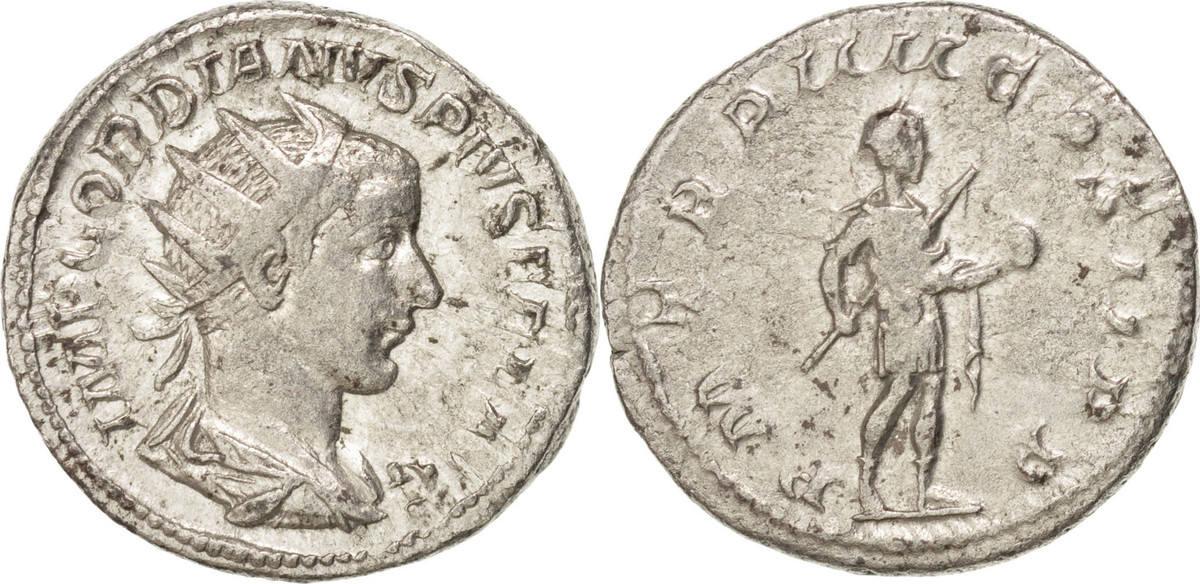 Antoninianus Roma Gordian III EF(40-45)