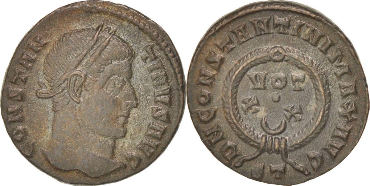 Follis Ticinum Constantine I AU(50-53)