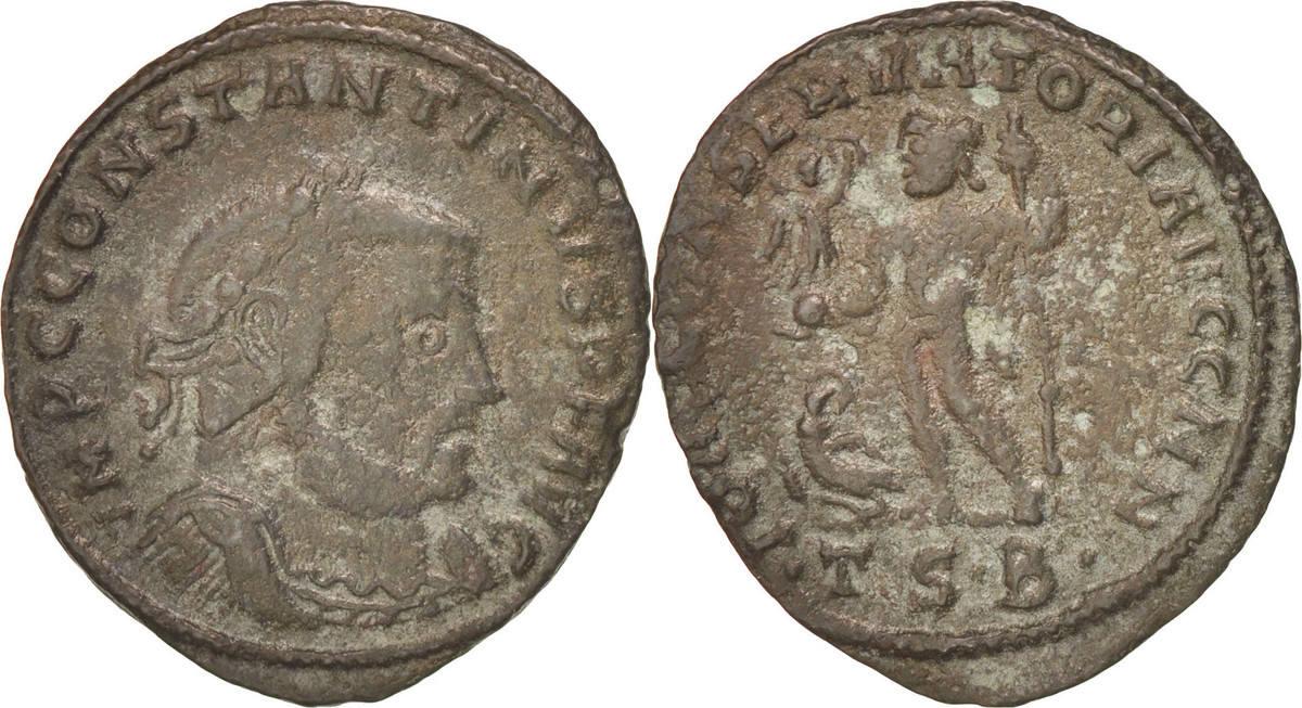 Follis Thessaloni Constantine I EF(40-45)