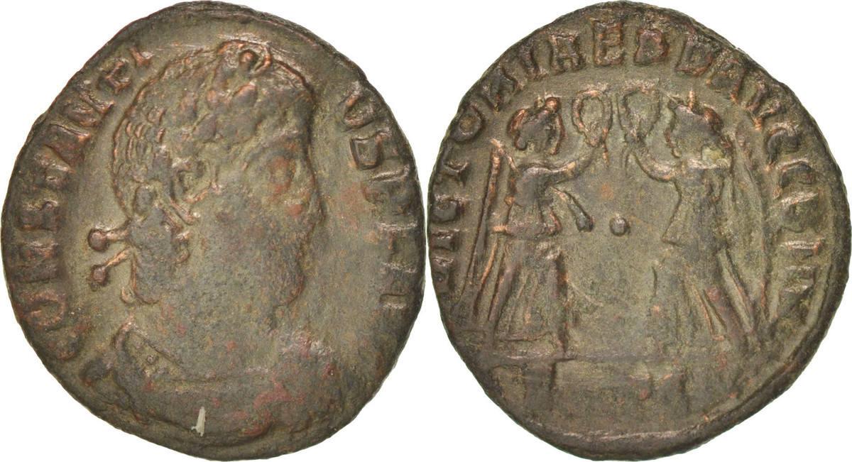 Centenionalis Thessaloni Constantius II EF(40-45)