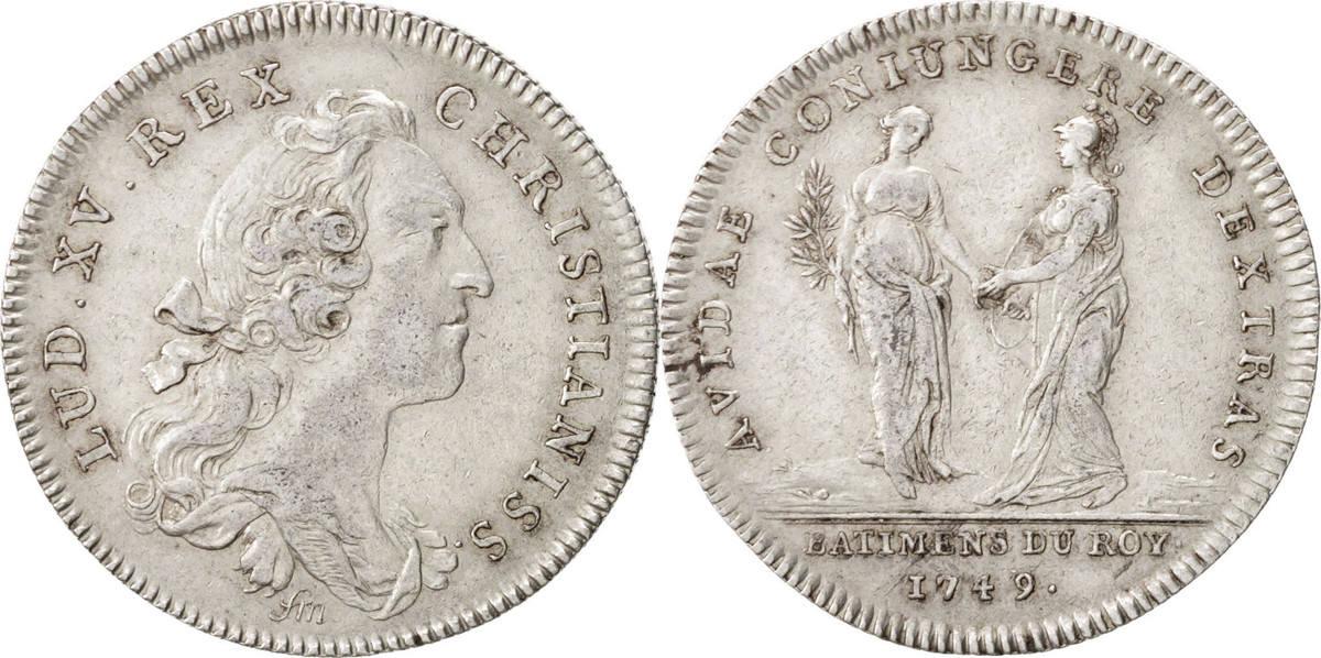 Token 1749 Frankreich AU(55-58)