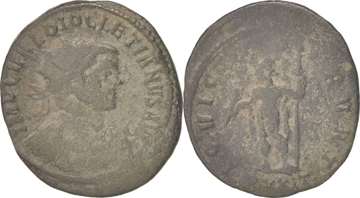 Antoninianus Ticinum Diocletian VF(20-25)