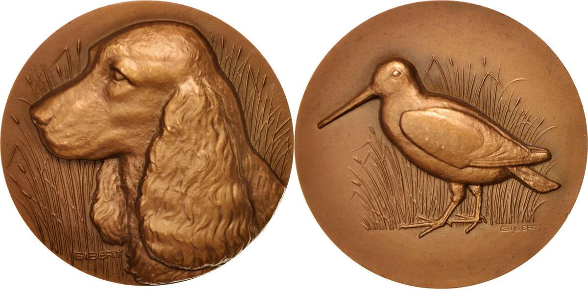 Medal 1968 Frankreich AU(55-58)