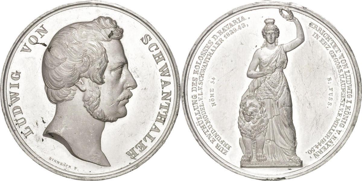 Medal 1850 Deutschland AU(50-53)
