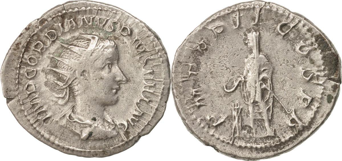 Antoninianus 239 Roma Gordian III AU(50-53)