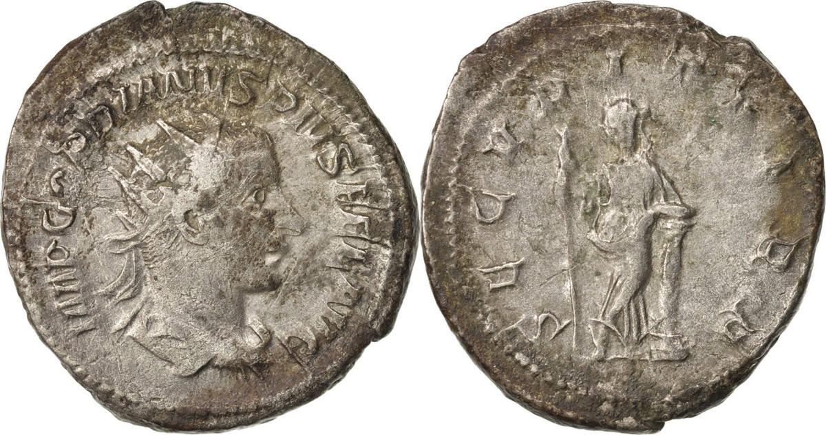 Antoninianus 244 Roma Gordian III EF(40-45)