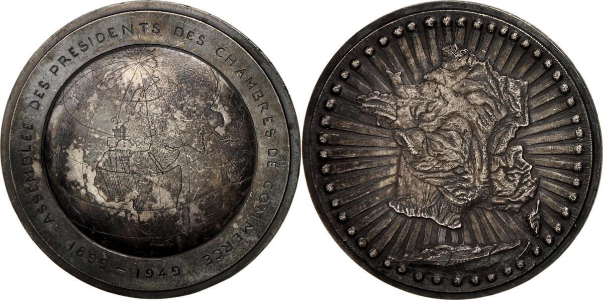 Medal 1949 Frankreich AU(55-58)
