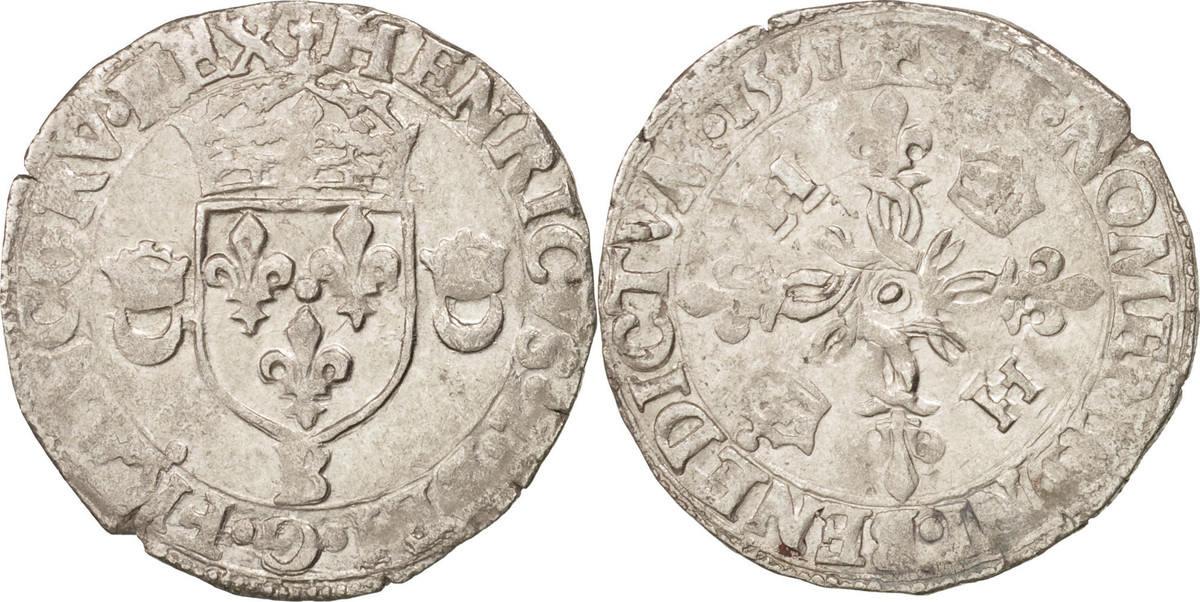 Douzain aux croissants 1551 Rouen Frankreich EF(40-45)