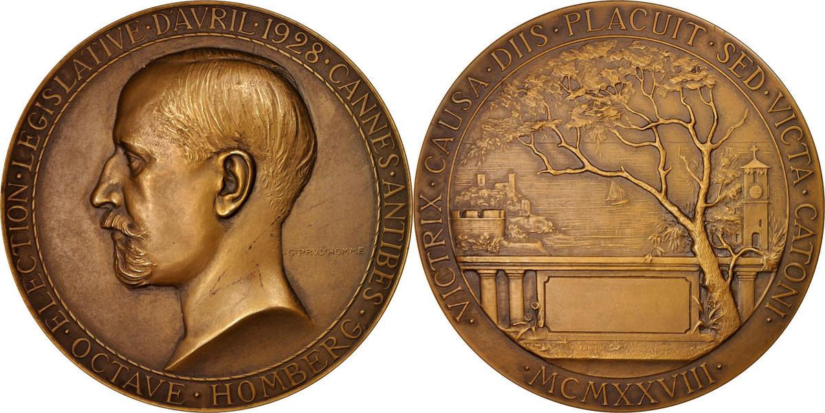 Medal 1928 Frankreich AU(55-58)