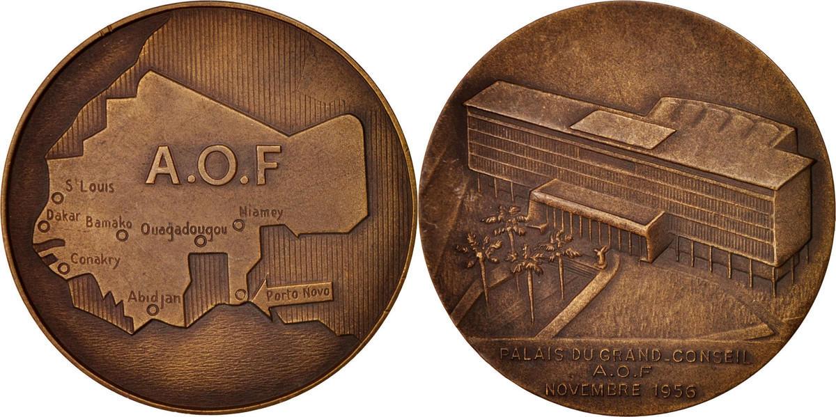 Medal 1956 Benin AU(55-58)
