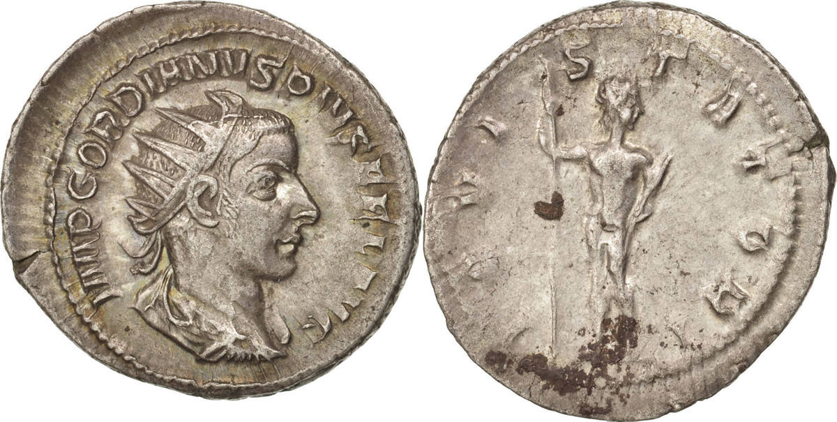 Antoninianus Roma Gordian III AU(50-53)