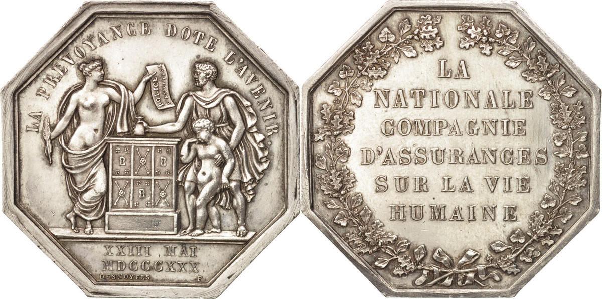 Token 1830 Frankreich AU(55-58)