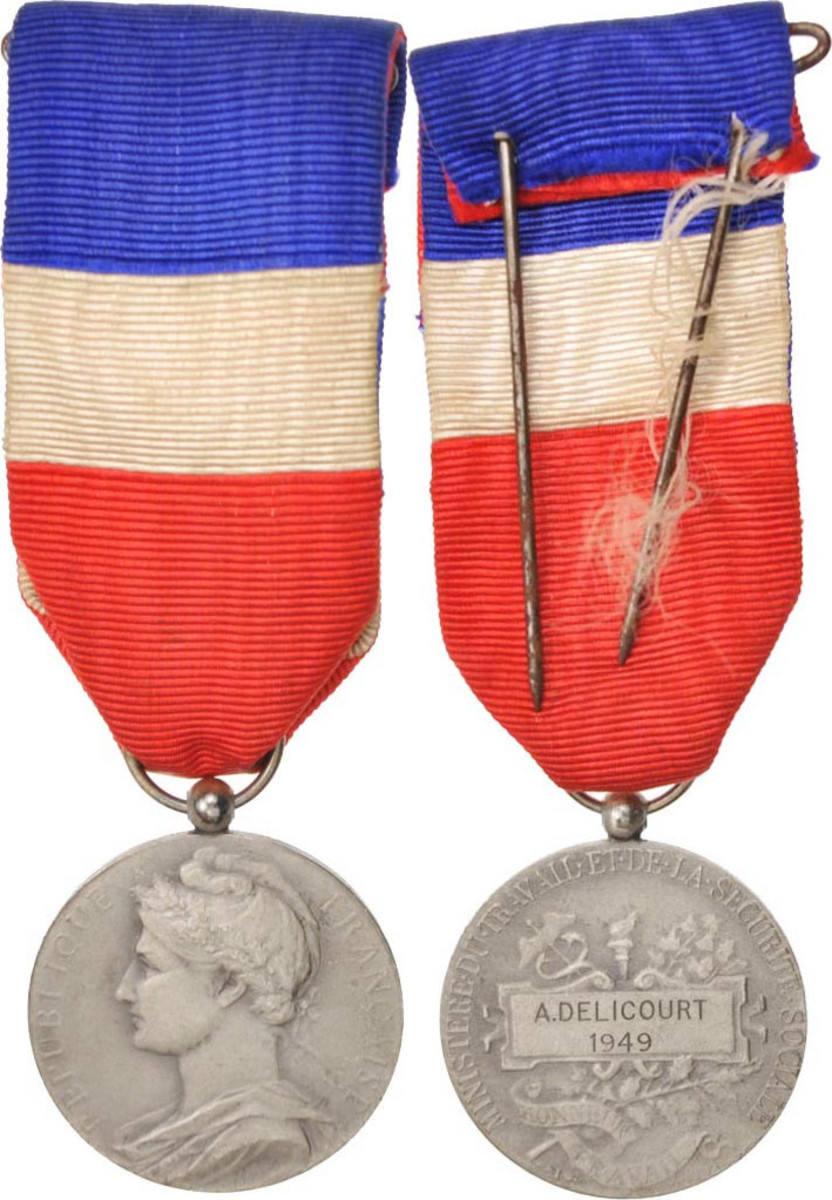 Medal 1949 Frankreich