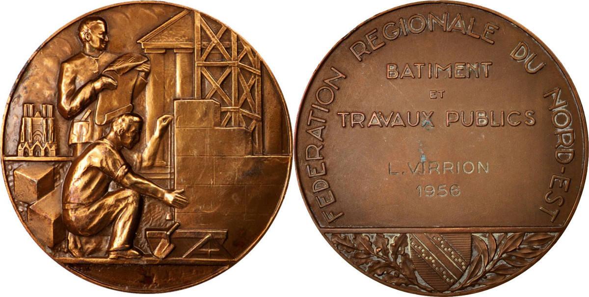 Medal 1956 Frankreich AU(50-53)