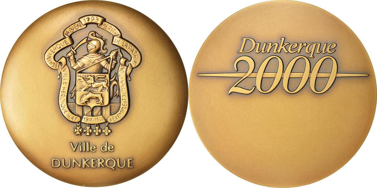 Medal 2000 Frankreich MS(63)