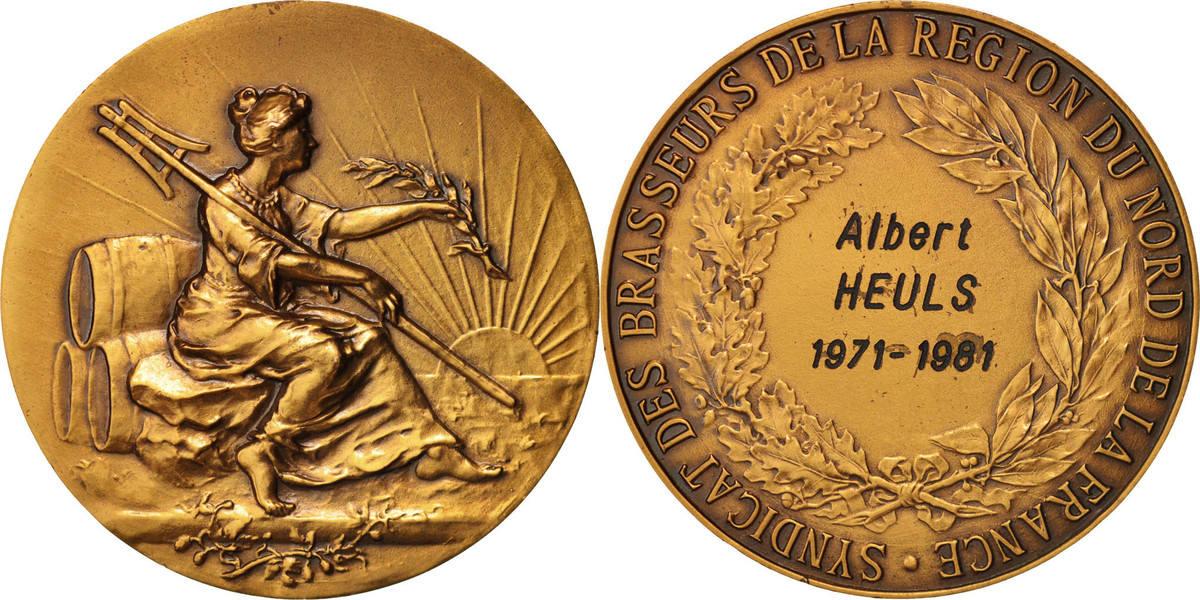 Medal 1981 Frankreich AU(55-58)