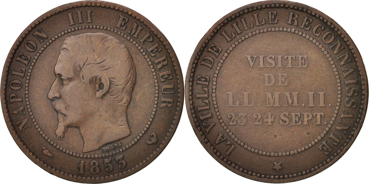 Token 1853 Frankreich VF(30-35)