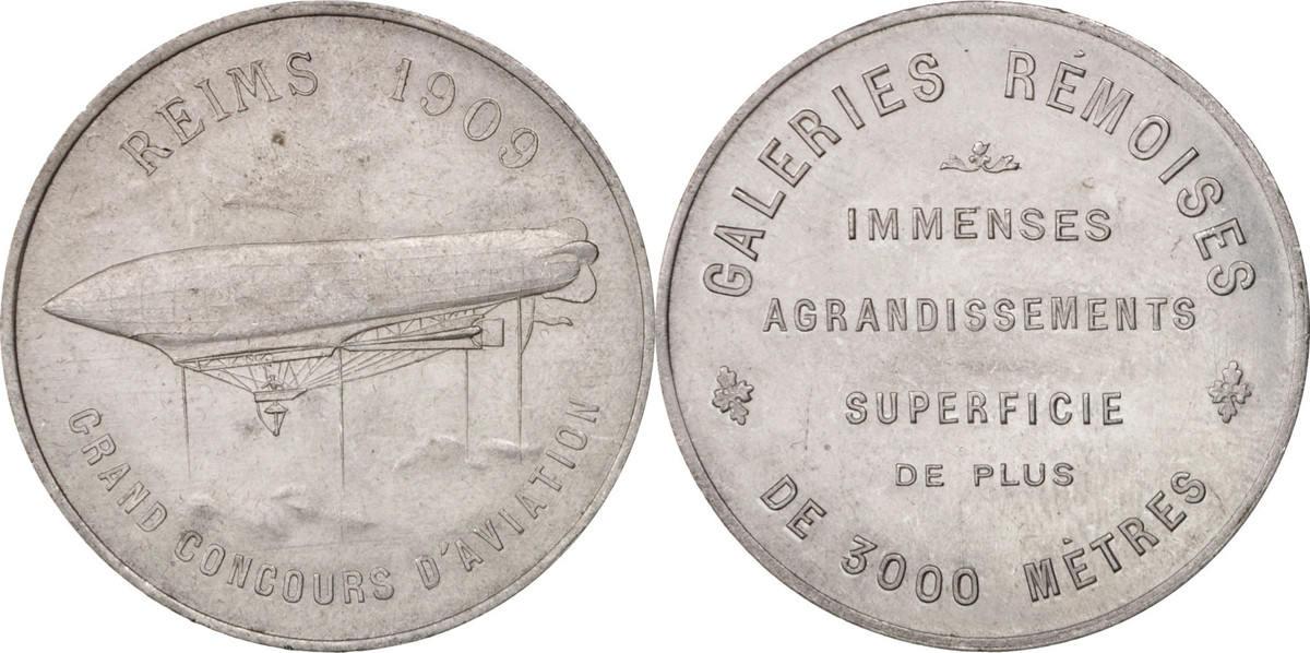 Medal 1923 Frankreich AU(50-53)