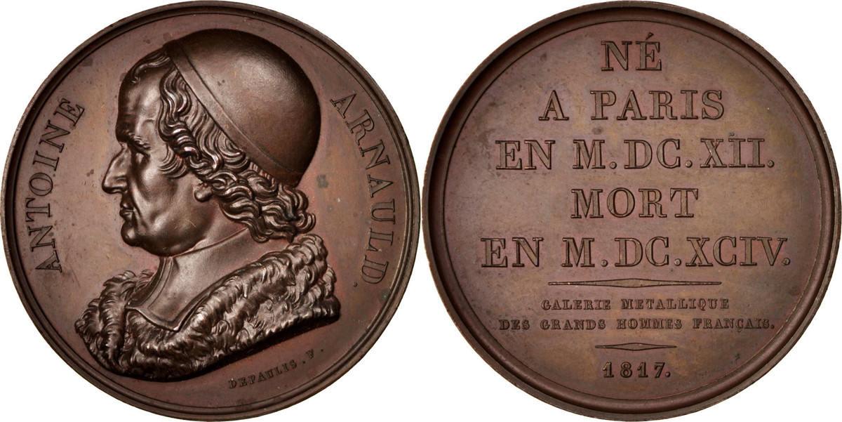 Medal 1817 Frankreich AU(55-58)