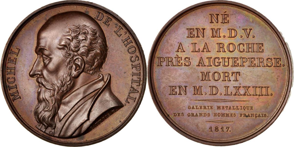 Medal 1817 Frankreich MS(60-62)