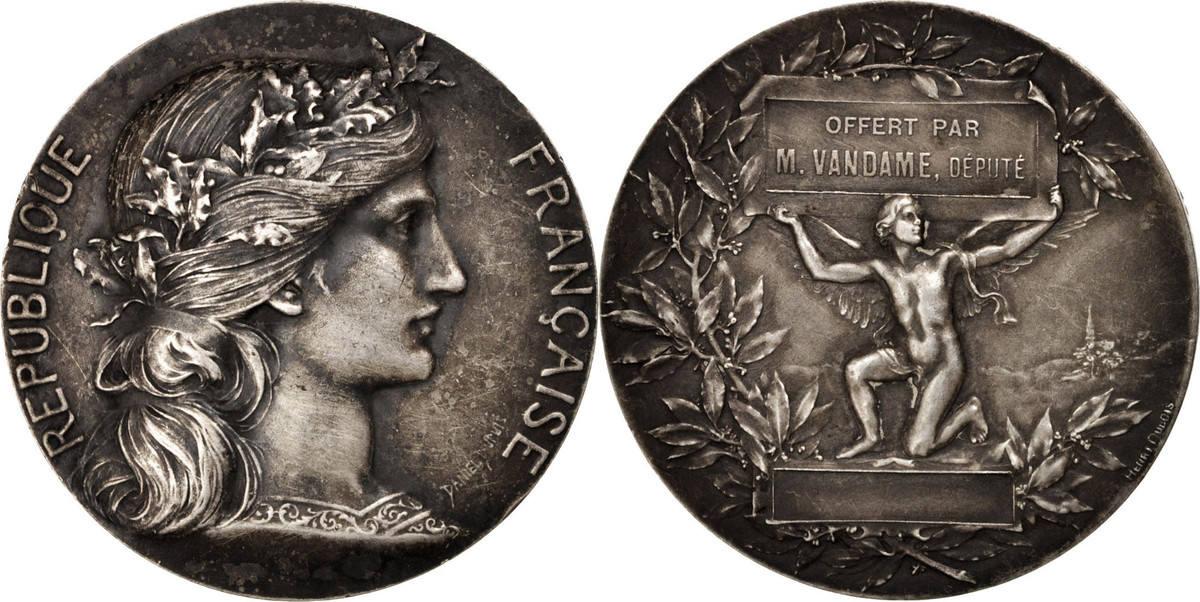 Medal XIXth Century Frankreich AU(50-53)