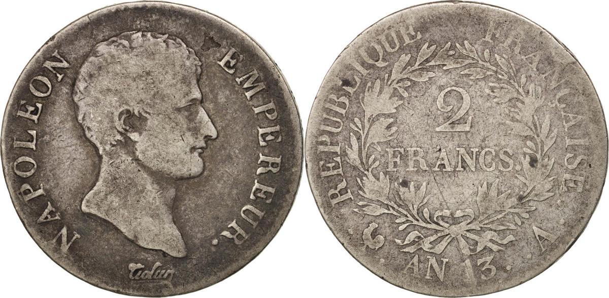 Franc 1805 W Frankreich Napoléon I VF(20-25)
