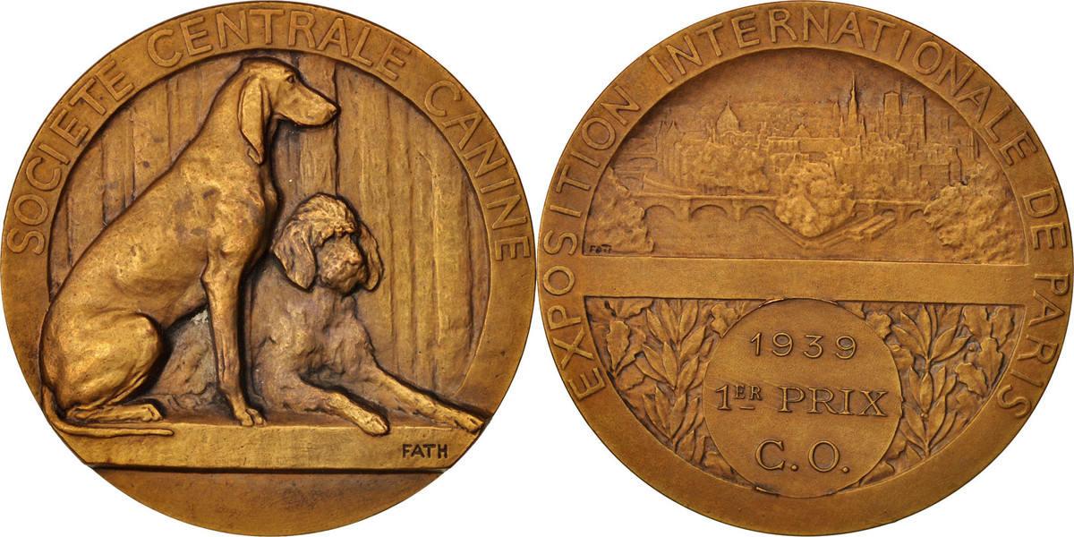 Medal 1939 Frankreich AU(55-58)