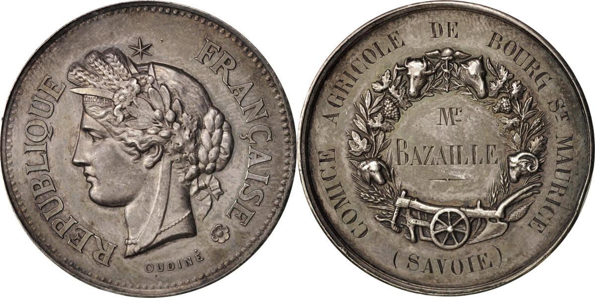Medal XIXth Century Frankreich AU(55-58)