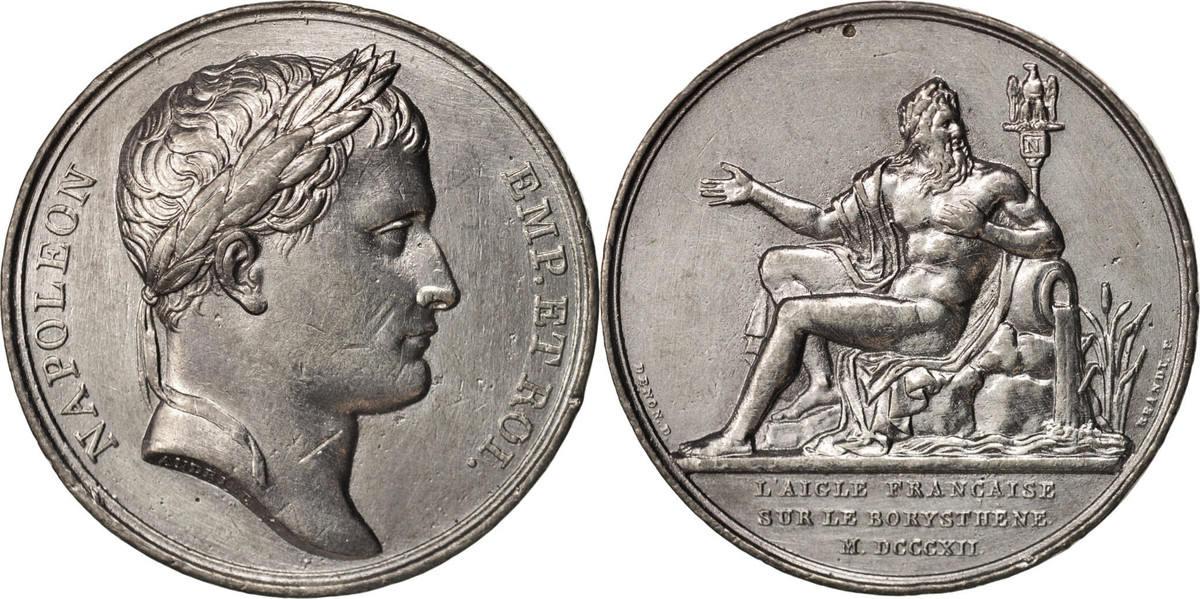 Medal 1812 Frankreich AU(50-53)