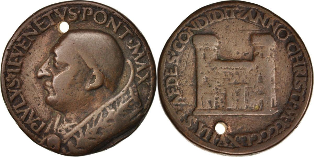 Medal XVth Century Vatikan VF(30-35)