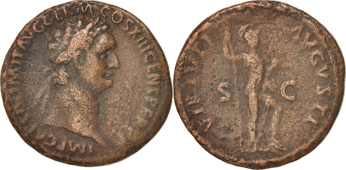 As 87 Roma Domitian VF(30-35)