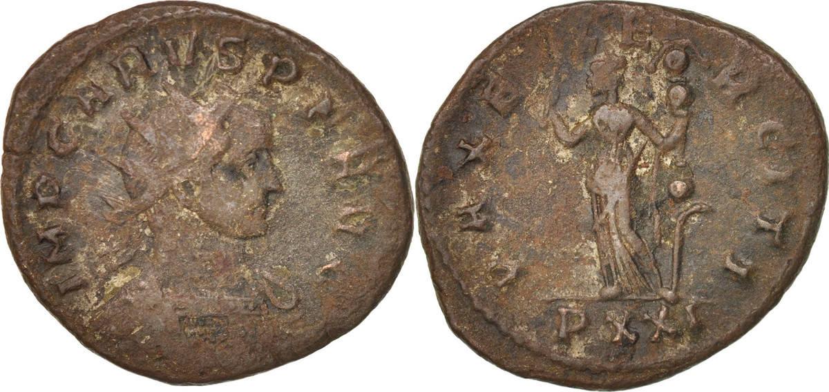 Antoninianus 282 Ticinum Trebonianus Gallus VF(20-25)